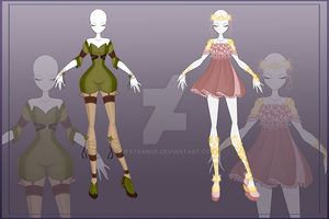 [Close]  Adoptable Outfit Auction 14-15 by LifStrange