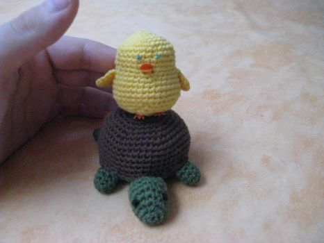 Turtle and Chick... by LixyAmi