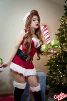 LoL: Candy Cane Miss Fortune III by CookieKabuki