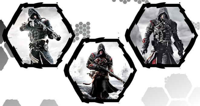 Assassin's Creed Rogue by WE4PONX