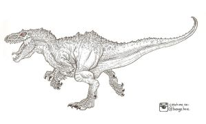 INDOMINUS REX : Drago by BongzBerry