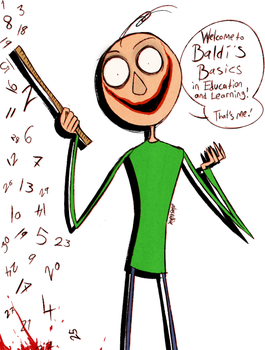 Welcome to Baldi's Basics by Atlas-White