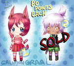 Kemonomimi adopts [1/2 OPEN] 80 pts by CalimonGraal