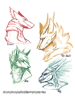 JM headshots by MutantParasiteX