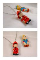Street fighter charms by Shadaloo1989