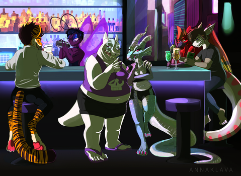 [C] Judging You At The Club by AnnaKlava