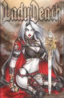 Lady Death Blank by Dawn-McTeigue