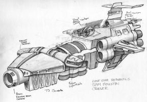 DCG-LSR Gallows Cruiser by tsciorrotta