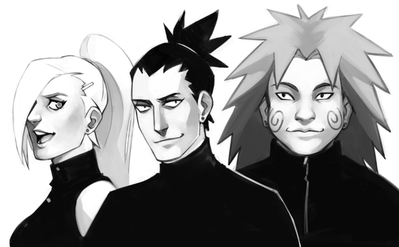 team asuma by spikermonster