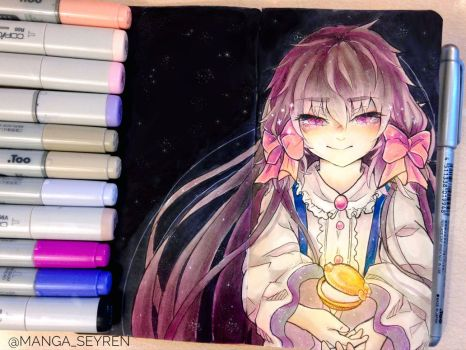 - Goldia - Pocket Mirror Fanart by MangaSeyren