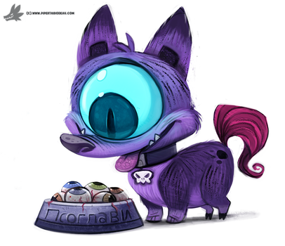 Day 805# Psoglav #sketchdailies by Cryptid-Creations