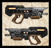 I4-B35 Heavy Energy Pistol by Great-5