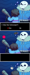 UNDERTALE - Dammit Sans. by fetalstars