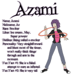 Azami - Profile by Ifrit9
