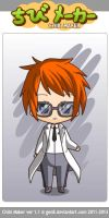 PPGD Chibimaker series: Dexter by snitchpogi12
