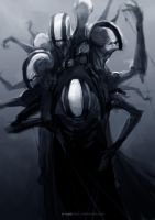 The Whisperer - Character Sketch by Y-mir