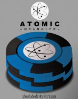 Atomic Wrangler Poker Chips by Shoedude