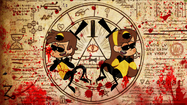 Cipher Twins by spock-sickle