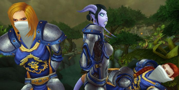 Test: The Alliance was gagged in Tanaan by Gadreel88