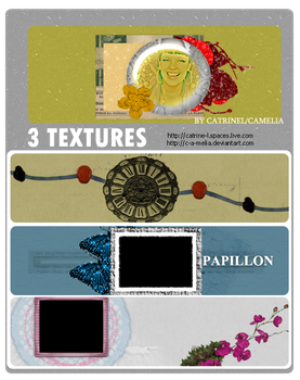 3 textures by c-a-melia