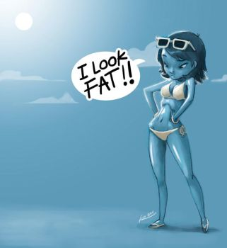 I look FAT by ReevolveR