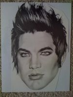 Adam Lambert Head by sunshinerin