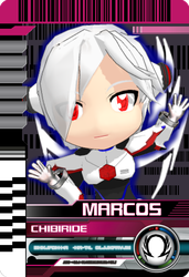 Marcos Chibi Ride Card by MarcosPsychic