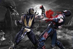 scorpion and sub zero by john944