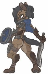 MonsterGirl_008 Gnoll Warrior by MuHut