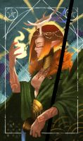 Critical Role Tarot: The Temperance by SurugaMonkey