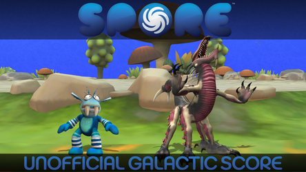Spore UGS Title Card: Creepy and Cute by GBAura