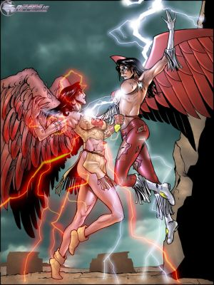 Thunderbird vs Fallen by Teri-Minx