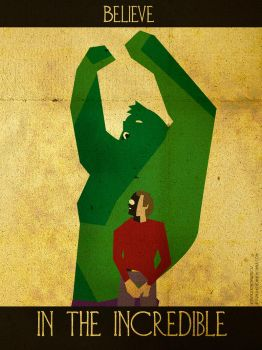Believe - The Hulk by KerrithJohnson