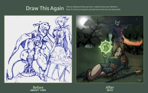 Draw this again entry 2012 by Sean-Loco-ODonnell