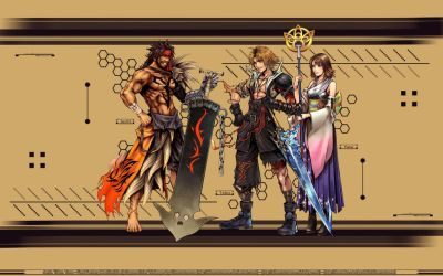 Dissidia Final Fantasy X by SilverCat-sama