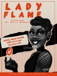 Lady Flame by SharpAce