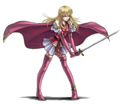 Raquesis/Lachesis (FE4) by Eeveetachi