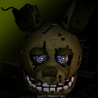 Springtrap WIP by GamesProduction