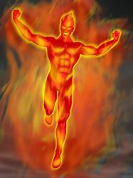The Golden Age Human Torch by jaypiscopo