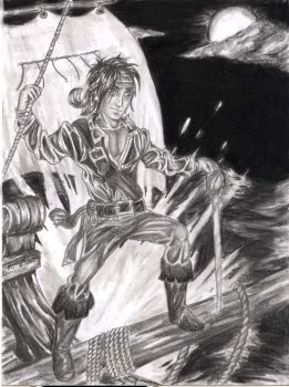 Young Captain Jack Sparrow by FantasyMaker