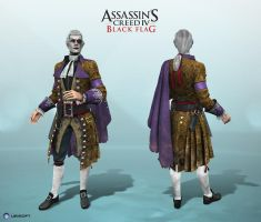 Assassin's Creed IV Black Flag - The Dandy by Dipnusurf