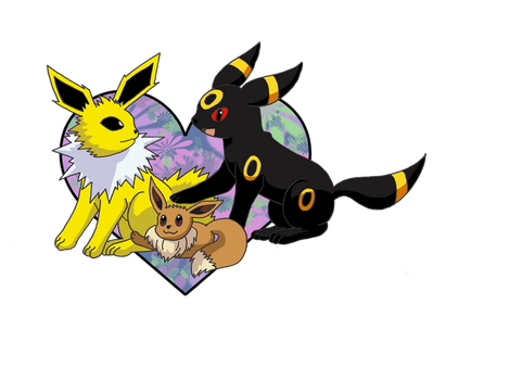 Eeveelution Contest Entry #2 by birdconure