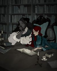 The Library by AbigailLarson