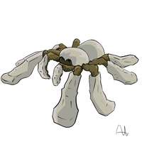Fakemon Arachnium by altimis