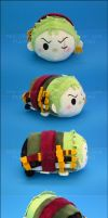 Stacking Plush: Small Zoro - One Piece by Serenity-Sama