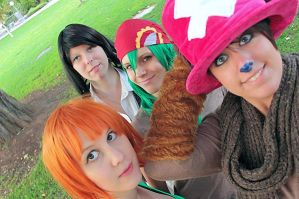 Nami Cosplay One Piece Arlong Arc by Lucy-chan90