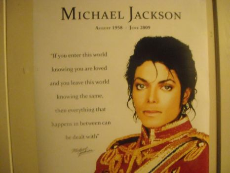 MICHAEL JACKSON POSTER01 by camilah