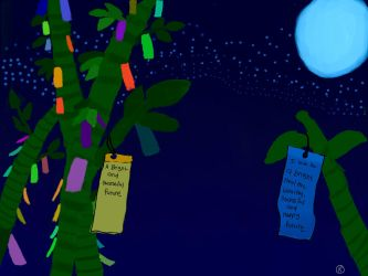 Tanabata Wish by kev4ever