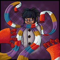 Scarf Girl by Atherist
