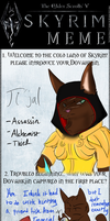 Introducing Ti'jal *Skyrim Meme* by BullSwag